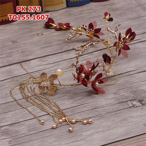 Cài tóc cô dâu bướm vàng đồng , đính hoa đỏ - 4370730 , 6382082 , 15_6382082 , 155000 , Cai-toc-co-dau-buom-vang-dong-dinh-hoa-do-15_6382082 , sendo.vn , Cài tóc cô dâu bướm vàng đồng , đính hoa đỏ