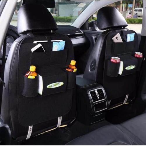 Worldmart bộ 2 túi đựng đồ sau lưng ghế 6 ngăn tiện dụng
