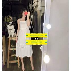 Đầm maxi xẻ tà Grace dress - Hàng thiết kế