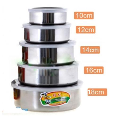 Bộ 5 hộp đựng thực phẩm inox cao cấp - Bộ 5 hộp inox - 4370848 , 6382753 , 15_6382753 , 89000 , Bo-5-hop-dung-thuc-pham-inox-cao-cap-Bo-5-hop-inox-15_6382753 , sendo.vn , Bộ 5 hộp đựng thực phẩm inox cao cấp - Bộ 5 hộp inox