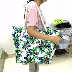 Túi xách du lịch hoa văn