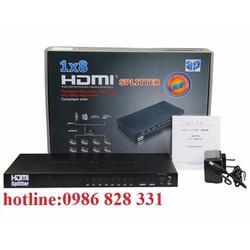 Bộ chia HDMI 1 ra 8 Full HD 1080 hỗ trợ 3D