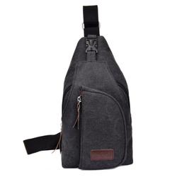 Túi đeo chéo trước ngực vải bố trẻ trung