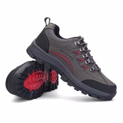 Giày đi phượt WANDESI - Du lịch, Leo núi, Trekking - Xám