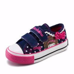 Giày thể thao quai dính cho bé gái từ 6 đến 16 tuổi - V903-1