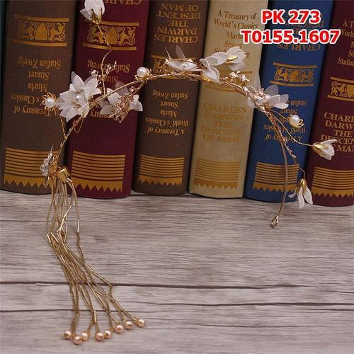 Cài tóc cô dâu bướm vàng đồng , đính hoa trắng - 4370725 , 6382055 , 15_6382055 , 155000 , Cai-toc-co-dau-buom-vang-dong-dinh-hoa-trang-15_6382055 , sendo.vn , Cài tóc cô dâu bướm vàng đồng , đính hoa trắng