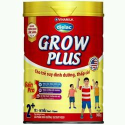 sữa bột khuyến mãi mở hàng sữa bột Diealac Grow plus đỏ hộp 900g