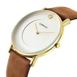 Đồng hồ thời trang siêu mỏng CRRJU full box Mã số:DH1745