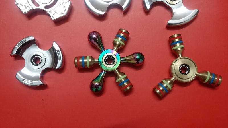Spinner 6 Cánh Bi Inox 15