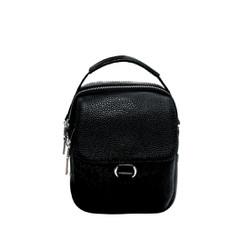 Túi đeo chéo nam da bò thật cao cấp màu đen