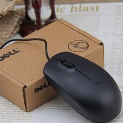 Chuột quang D-e-l-l màu đen
