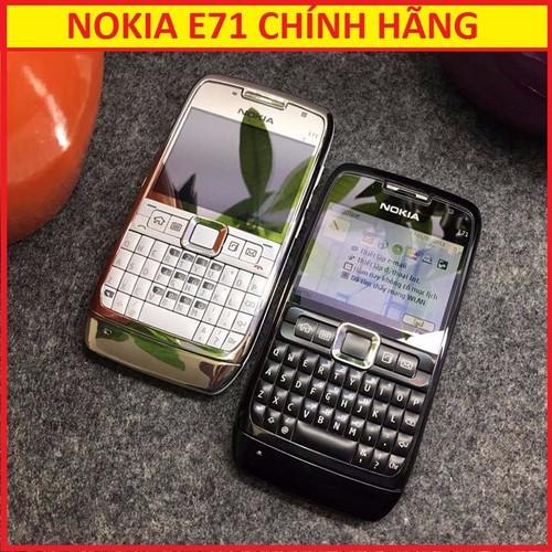 NOKIA E71 ZIN CHÍNH HẢNG, BH 6 THÁNG, FULL PIN SẠC