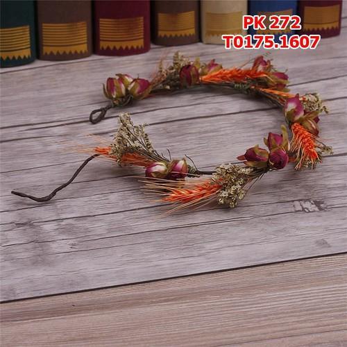 Cài tóc cô dâu hoa lá kết hợp đẹp tự nhiên - 4370695 , 6381916 , 15_6381916 , 175000 , Cai-toc-co-dau-hoa-la-ket-hop-dep-tu-nhien-15_6381916 , sendo.vn , Cài tóc cô dâu hoa lá kết hợp đẹp tự nhiên