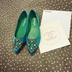 Giày búp bê hoa giá khuyến mãi. chất lượng. thoải mái khi mang