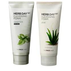 Bộ đôi sữa rửa mặt Herb Day Nam Nữ