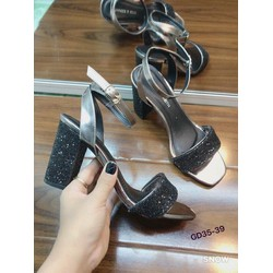 giày scandal nhũ kim tuyến
