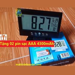 Đồng hồ LED để bàn + Tặng 02 pin sạc AAA 4300mAh