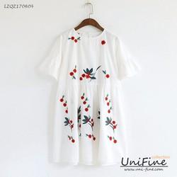Váy nữ họa tiết