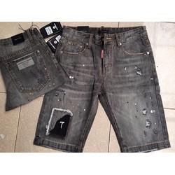 Quần short jean rách thời trang trẻ