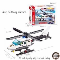 Đồ chơi lắp ghép mô hình máy bay trực thăng