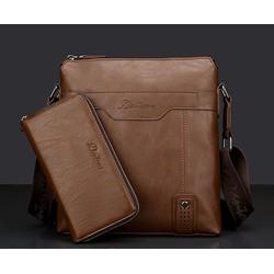 Set túi đeo chéo kèm ví da cao cấp DENTONBONY-5188-5