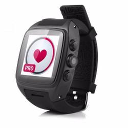 Đồng hồ thông minh theo dõi sức khỏe WIFI 3G Android Wear Đen