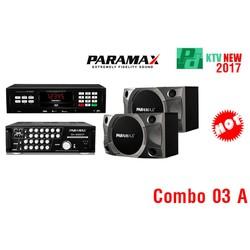 Combo03A:Loa P900,AmplySA999XP, ĐầuParamaxLS3000