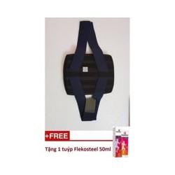 Đai lưng hỗ trợ điều trị cột sống size S Tặng Kem Flekosteel