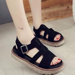 Giày Sandal Nữ Cá Tính Phong Cách Hàn Quốc