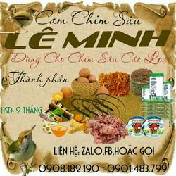 Cám Chim Sâu  Cho Khách mua 1kg