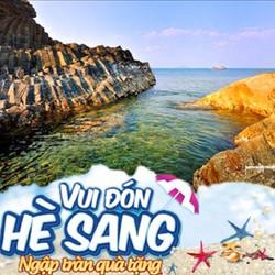 Tour du lịch hè Hà Nội - Phú Yên 4N3Đ: Ghành Đá Đĩa - Đầm Ô Loan