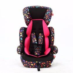 Ghế ngồi ô tô 3 giai đoạn cho bé từ 9 tháng 12 tuổi 9-36kg hoa