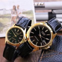 Đồng hồ đôi có lịch ngày - Giá 1 đôi