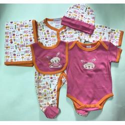 Set đồ cho bé từ 3 đến 6 tháng tuổi mẫu 3