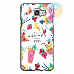 Ốp lưng Samsung Galaxy A7 2016  in hình Cocktails Summer