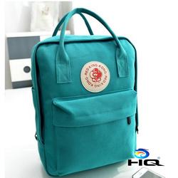Ba lô canvas thời trang phong cách Hàn Quốc HQ TU8127 1  xanh nhạt