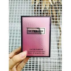 Nước hoa nam nữ Superior Eau De Parfum 60ml