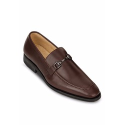 Giày lười nam G28 màu nâu