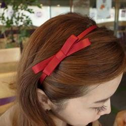 Cài tóc nơ vải trơn xinh xắn giá 10k