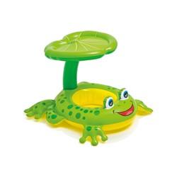 Phao bơi xỏ chân mái che hình ếch xanh Intex 56584