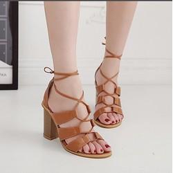 Giày sandal chiến binh 9cm