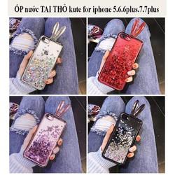 Ốp tai thỏ thời trang xếp gọn giành cho iphone567