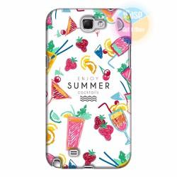 Ốp lưng Samsung Galaxy Note 2 in hình Cocktails Summer