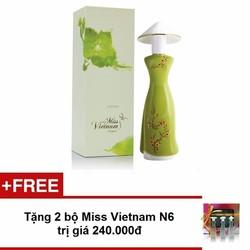 Nước hoa Miss Vietnam - Saigon N31 35ml - Tặng 2 bộ NH Miss VN N6