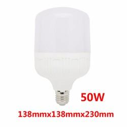 Bóng Đèn LED 50W bulb E27 công suất lớn Ánh sáng trắng