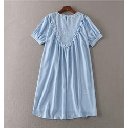 Đầm Suông Phối Bèo Ren - 9085