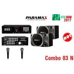 Combo03N: Loa P900, Amply SA999 XP, Đầu LS3000, 2Micro Pro 888