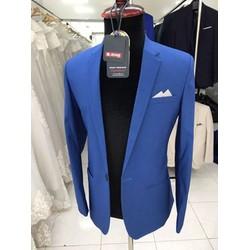 Bộ vest chú rể màu xanh đậm