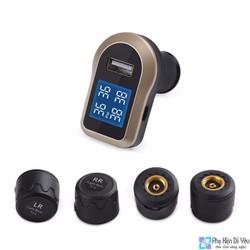Hệ thống giám sát áp suất lốp và Sạc Ô tô Aukey TP-CO-001
