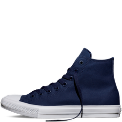 Giày Chuck2 AllStar Xanh Navy Cổ Cao Nam